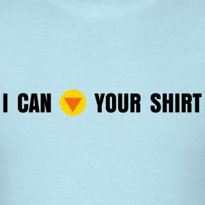 I can 'C-down' your shirt' - Men's T-Shirt