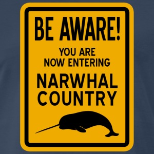 Narwhal Country T-Shirts - Men's Premium T-Shirt