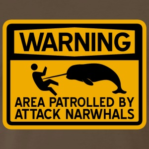 Attack Narwhals T-Shirts - Men's Premium T-Shirt