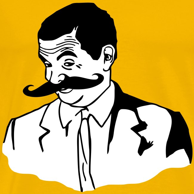 Meme Shirt Mr Bean Moustache If You Know What I Mean T Shirt