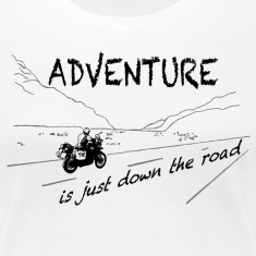 ADV is just down the road - Shirt LADIES