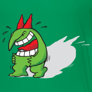 Design ~ Just For Laughs Kids' T Victor Laughing to Tears