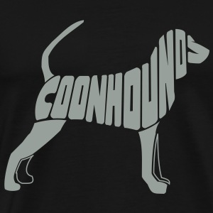 Coonhound Dog Art T-Shirts - Men's Premium T-Shirt