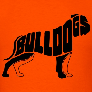 Bulldog Dog Art T-Shirts - Men's T-Shirt