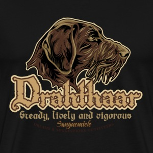 drahthaar_head T-Shirts - Men's Premium T-Shirt