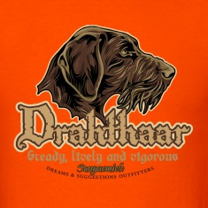 drahthaar_head T-Shirts