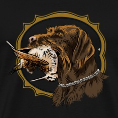 drahthaar_and_woodcock T-Shirts
