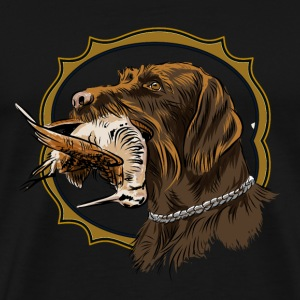 drahthaar_and_woodcock T-Shirts - Men's Premium T-Shirt
