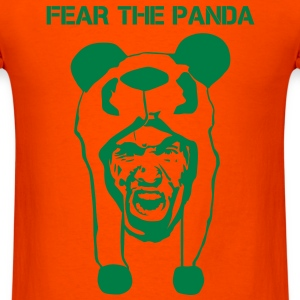 Fear The Panda Mud Runner - Men's T-Shirt