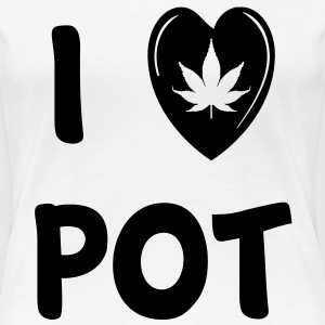 Pot Girl - Women's Premium T-Shirt