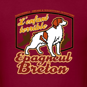 epagneul_breton_enfant_terrible T-Shirts - Men's T-Shirt