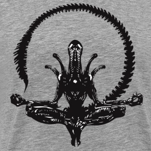 Zen Alien - Men's Premium T-Shirt
