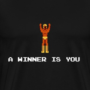A winner is you - Giant Panther - Men's Premium T-Shirt