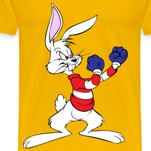 bucks bunny boxing - Men's Premium T-Shirt