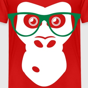 Ape with glasses Baby & Toddler Shirts - Toddler Premium T-Shirt