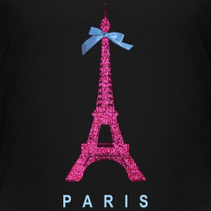 Hot Pink Paris Eiffel Tower Baby & Toddler Shirts - Toddler Premium T-Shirt