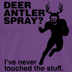 Deer Antler Spray? Nope T-Shirts - Men's Premium T-Shirt