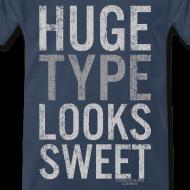 Design ~ Huge Type Looks Sweet