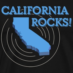 California Rocks! - Men's Premium T-Shirt