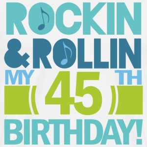 45th Birthday (rock and Roll) T-Shirts - Men's Premium T-Shirt