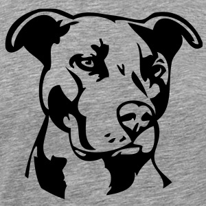 Pitbull Dog T-Shirts - Men's Premium T-Shirt