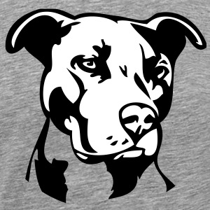 Pitbull Dog - 2 colors T-Shirts - Men's Premium T-Shirt