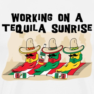 Mexican Tequila Sunrise T-Shirt - Men's Premium T-Shirt