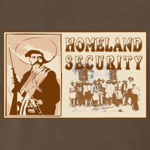 Mexican Homeland Security T-Shirt - Men's Premium T-Shirt