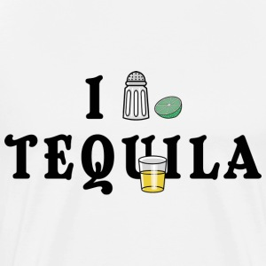 Mexican I Love Tequila T-Shirt - Men's Premium T-Shirt