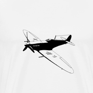 spitfire black - Men's Premium T-Shirt