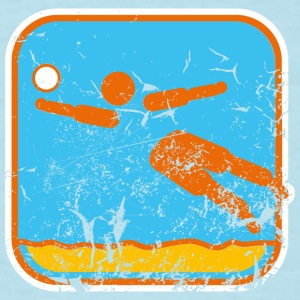 beachvolleyball used look T-Shirts - Men's T-Shirt