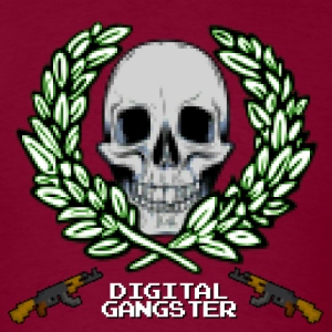 Digital Gangster 16bit - Men's T-Shirt