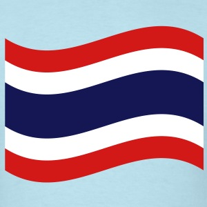 Thai Flag Wave T-Shirts - Men's T-Shirt