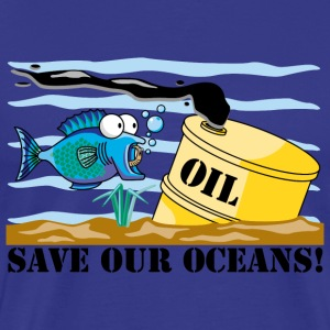 Earth Day Save Our Oceans T-Shirt - Men's Premium T-Shirt