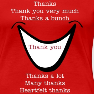 Many thanks shirt - Women's Premium T-Shirt