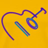 Design ~ Spanish Guitar in crayon
