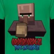 Design ~ Order! Order! Tape Recorder-Kids