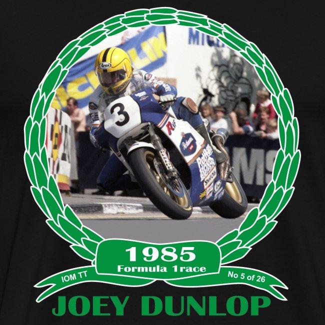 No 5 Joey Dunlop TT 1985 Formula 1