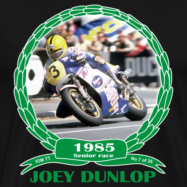 No 7 Joey Dunlop TT 1985 Senior