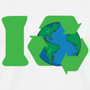 Earth Day I Recycle T-Shirt - Men's Premium T-Shirt