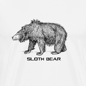 Sloth Bear! - Men's Premium T-Shirt