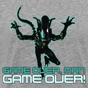 Game over man! - Men's Premium T-Shirt