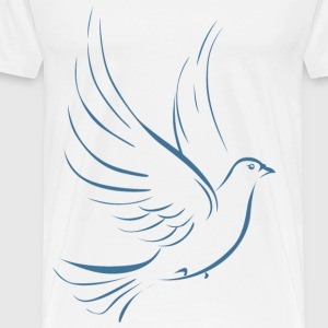 blue dove - Men's Premium T-Shirt