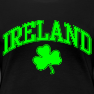 Design ~ Neon Green Ireland Women's T-Shirt
