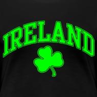 Design ~ Neon Green Ireland Women's T-Shirt