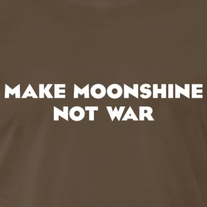 Make Moonshine Not War T-shirt - Men's Premium T-Shirt