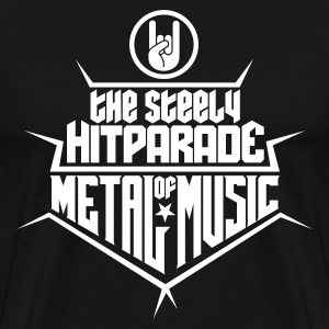 The steely Hitparade of Metal Music 1c T-Shirts - Men's Premium T-Shirt