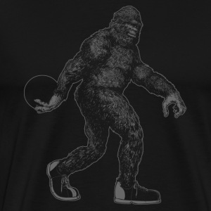 BIG FOOT BOWLING T-Shirts - Men's Premium T-Shirt