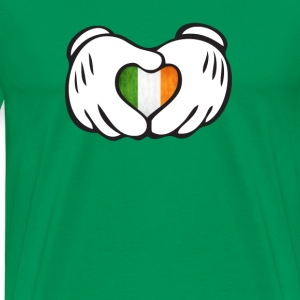 irish hand T-Shirts - Men's Premium T-Shirt