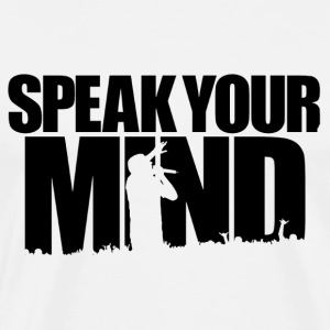 Spead Your [Freedom] Mind - Men's Premium T-Shirt